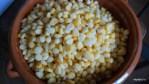 Размороженные зерна кукурузы