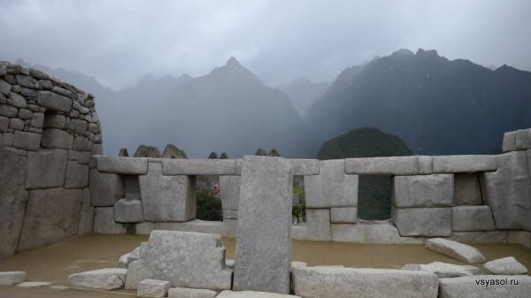 Храм трех окон в Макчу-Пикчу