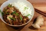 Китайско-корейское новогоднее блюдо мапо тофу