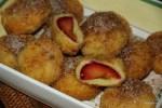Картофельные кнедли со сливами по-сербски