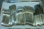Столовое серебро посольства Франции в Москве