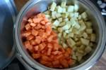 Морковь и картофель в сотейнике Zepter