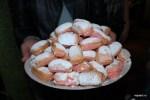 Розовые бисквиты Шампани
