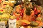 Засахаренные фрукты из Прованса на Лионском рынке