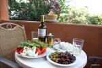 Греческий ужин в гостинице. Аксос, Крит