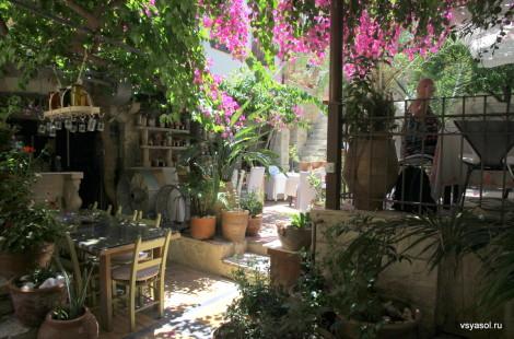 Ресторан Avli в Ретимно, Крит