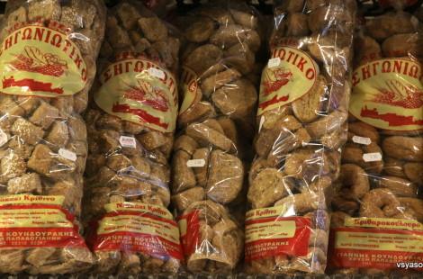 Сухари продают на Крите в любой пекарне