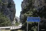 Ущелье на пути из Ретимно в Плакиас