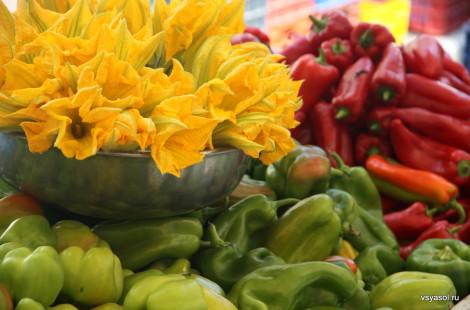 Субботний рынок в Хании, Крит