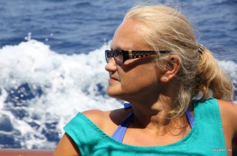 На борту яхты в Критском море