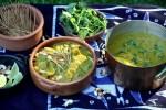 Бирманское карри с яичной лапшей