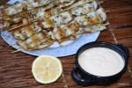 Жареные кальмары с соусом айоли