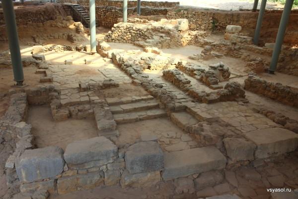Ахеологические раскопки в Ханье. Крит