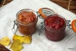 Яблочное пюре с ягодами