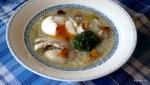 Традлиционный португальский куриный суп