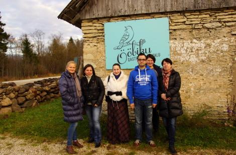 Участники поездки на Соловьиный хотор. Фото Юлии Алексеевой