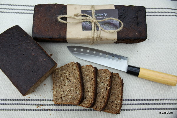 Ржаной эстонский хлеб