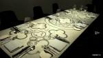 Обеденный стол из эстонского доломита в ресторане  Art Priori