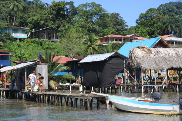 Вся жизнь на островах Бокас дель Торо связана с лодками