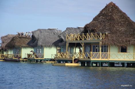 Отель на сваях, Бокас дель Торо