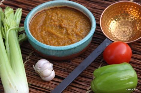 Основные ингредиенты карибского соуса