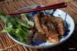 Зфба в соусе мисо по-японски