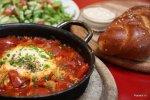 Шакшука, израильский завтрак