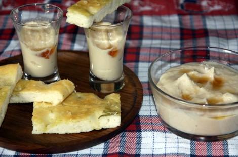 Паста из белой фасоли с кунжутным маслом