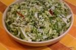 Coleslaw с быстромаринованным имбирем