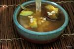 Мексиканский суп с тортильями, sopa de tortillas