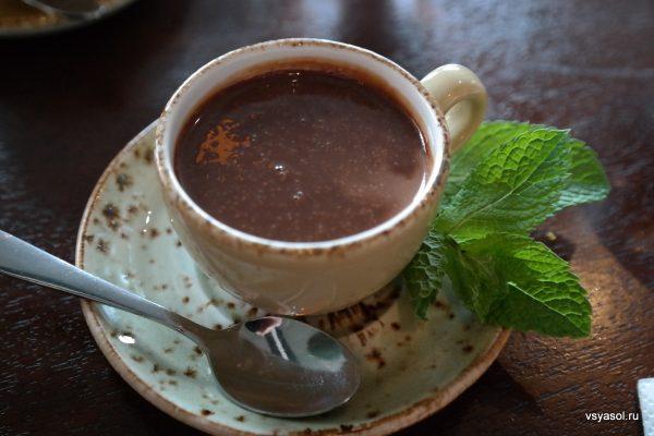 Горячий мексиканский шоколад