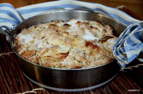 Деревенский яблочный пирог по-ирландски