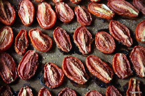 Выленые помидоры на зиму