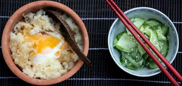 Окаю, японская рисовая каша