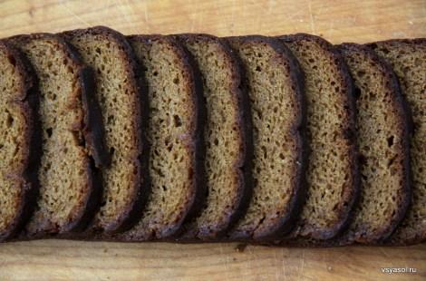 Ржаной солодовый хлеб