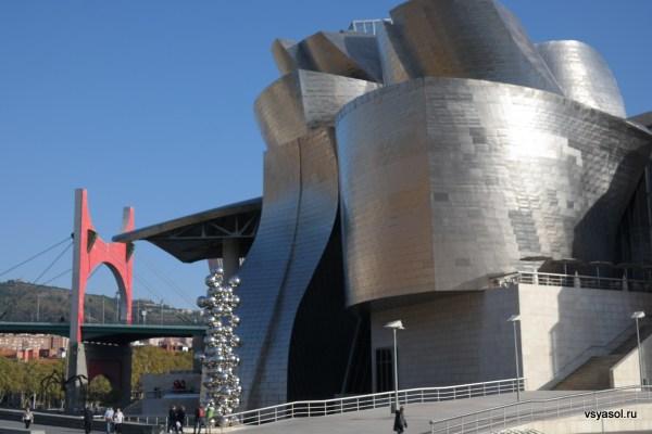 Музей Гугенхайма в Бильбао