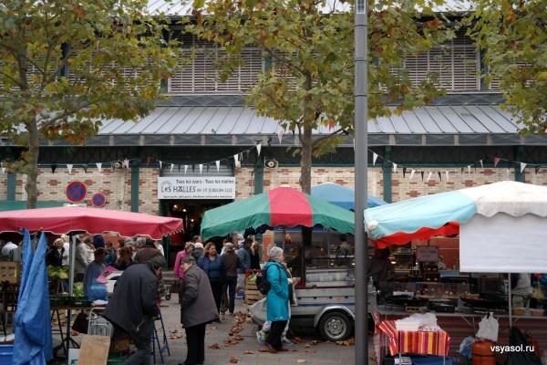 Рынок в Сан-Жан-де-Люс