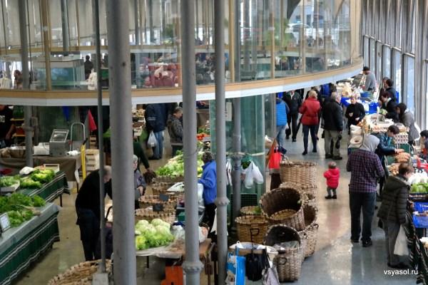 Рынок в Толосе