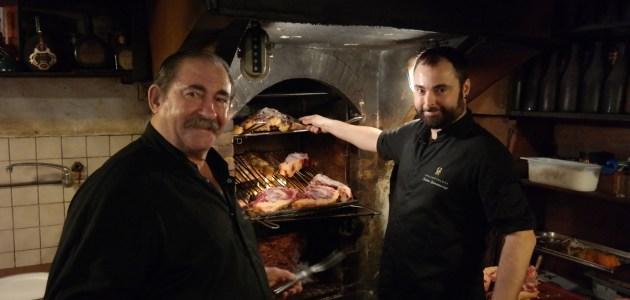 Храм мяса в средневековой баскской деревне