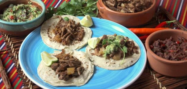 Tacos al pastor, мексиканская шаурма