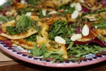 Испанский салат с кальмарами