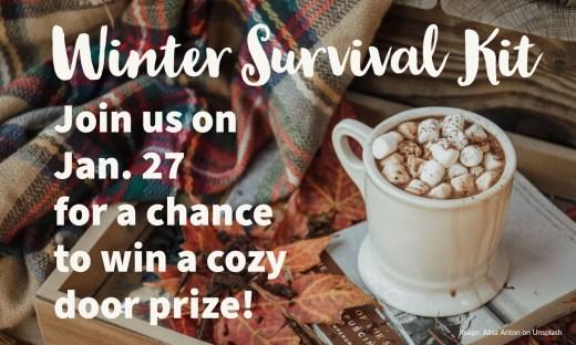 Hot cocoa door prize