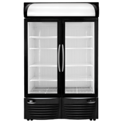 minus forty double door cooler