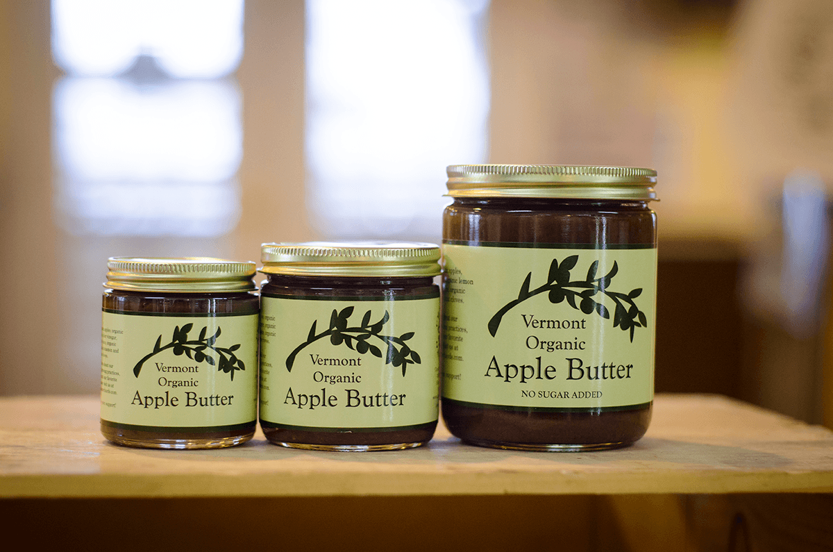 Image of jars of apple butter