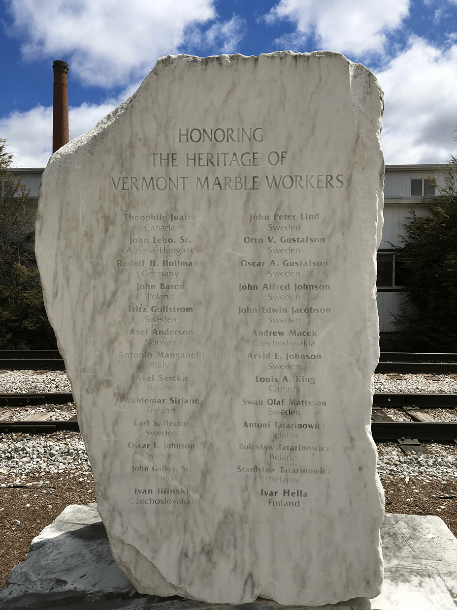 Image of the Marble Workers Memorial