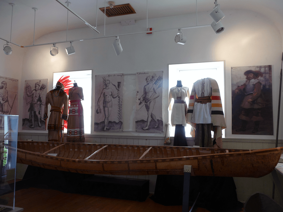 Image of the Alnobak - Wearing Our Heritage exhibit.