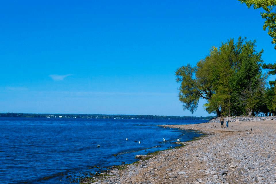 Image of Saint Anne's Shrine beach