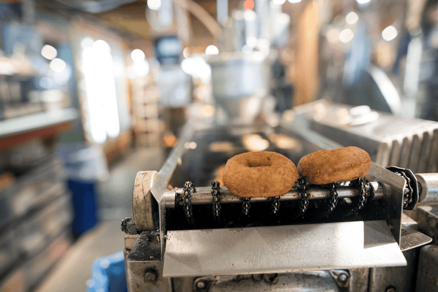 Image donuts on conveyor
