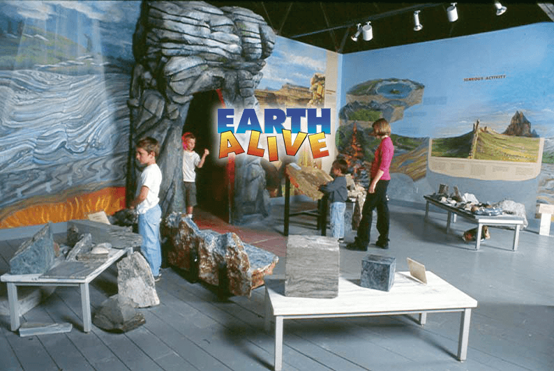 Image of the Earth Alive exhibit