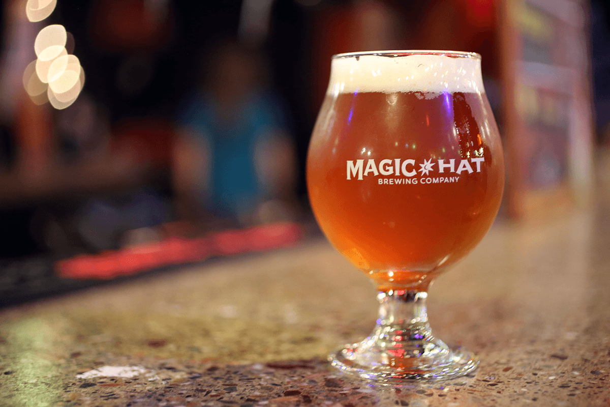 Image of a Magic Hat beer
